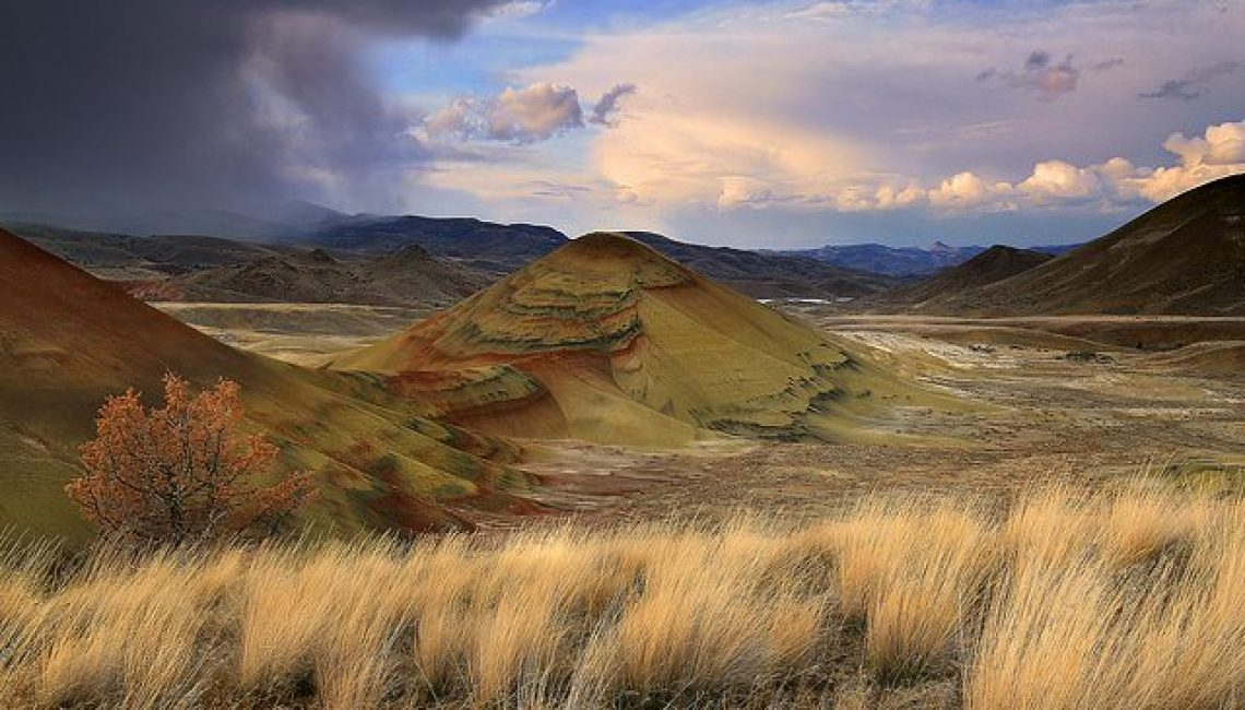 Painted Hills in John Day, Oregon